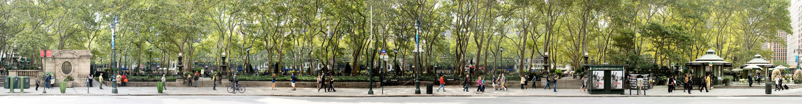 42nd St #2 (Bryant Park) by Larry Yust