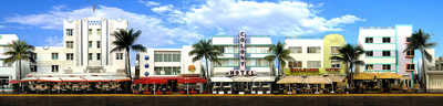 Miami Beach, Ocean Drive #2 by Larry Yust