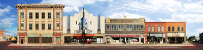 Alliance, Nebraska, Box Butte Avenue by Larry Yust