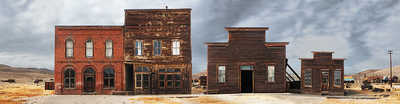 Bodie, California, Main Street #2 by Larry Yust