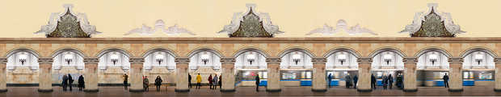 Moscow, Komsomolskaya, Circle Line - Larry Yust