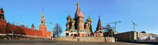 Moscow, St. Basil´s Cathedral - Larry Yust