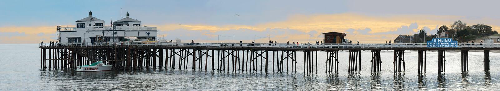 Malibu Pier - Larry Yust