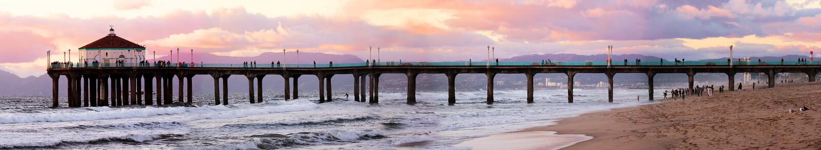 Manhattan Beach Pier - Larry Yust