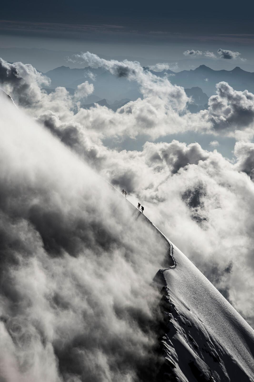 Eiger I, Mittellegigrat, Berner Alpen, Schweiz / Christian Gisi - Mammut Collection