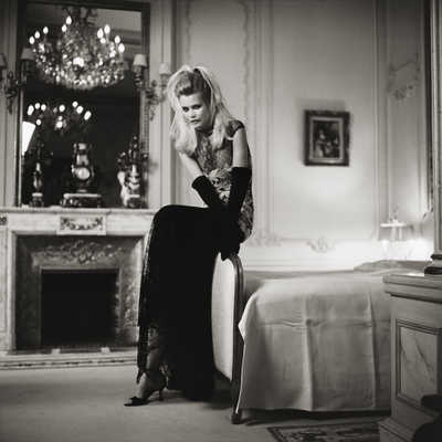 Claudia Schiffer I by Michel Comte