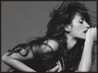 Penélope Cruz by Michel Comte