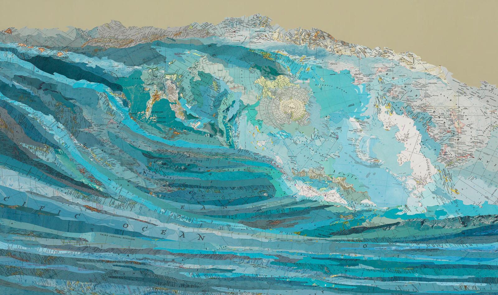 Kara's wave - Matthew Cusick