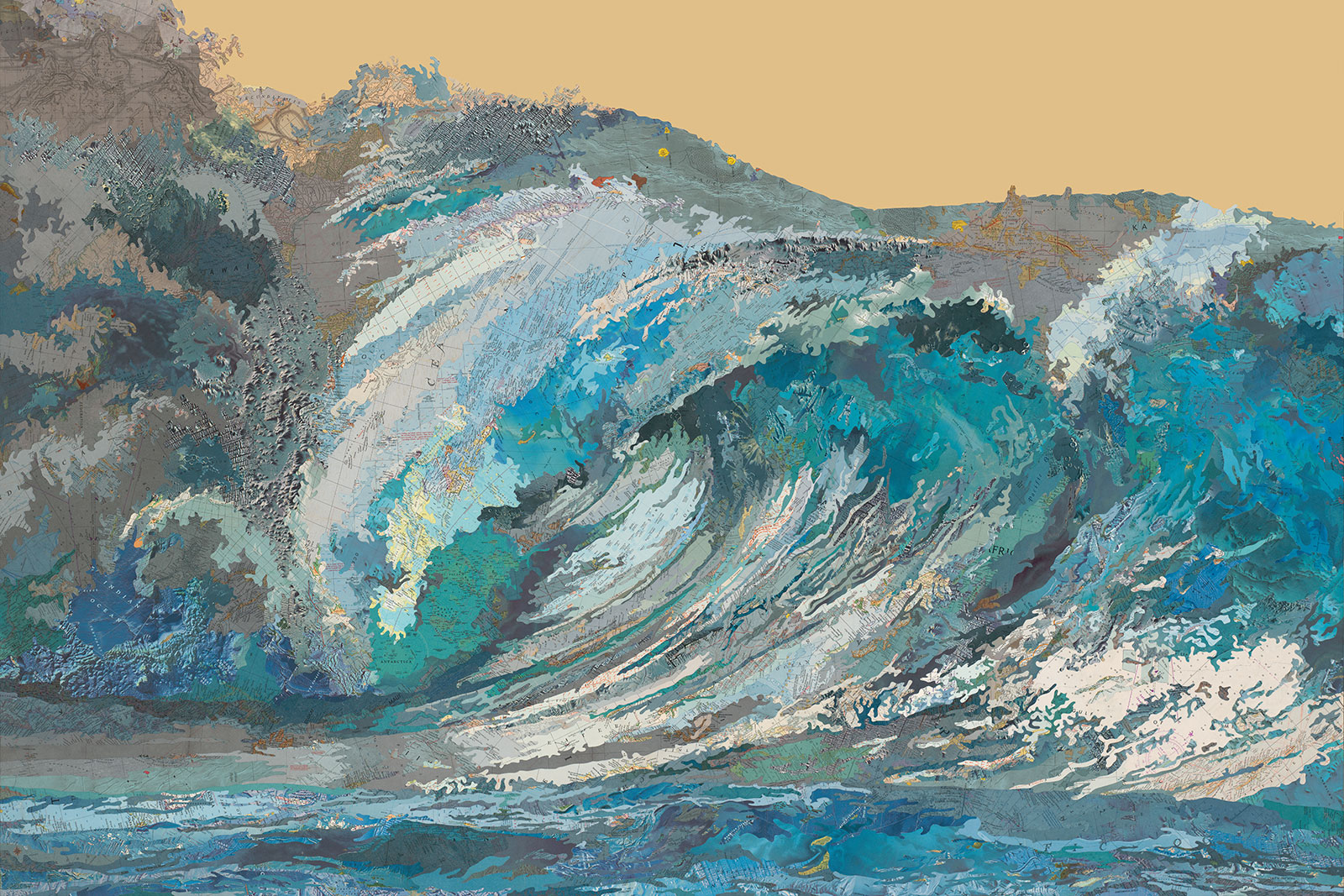 Kayli's Wave by Matthew Cusick