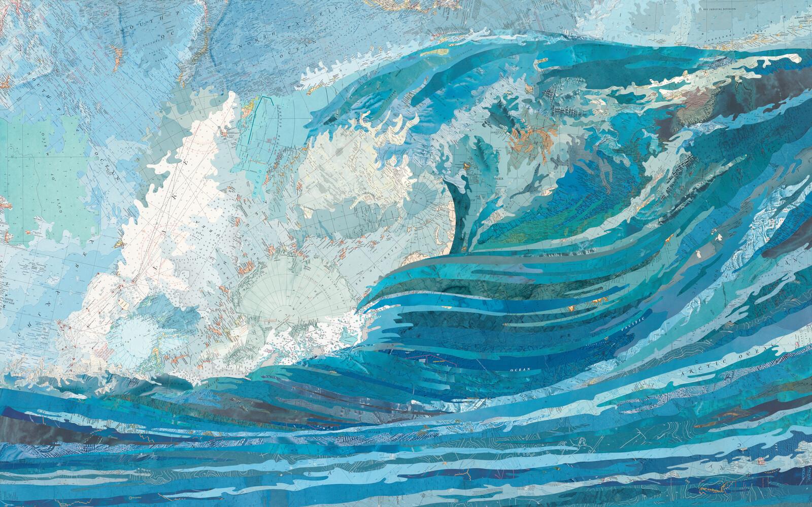 Irene's Wave - Matthew Cusick
