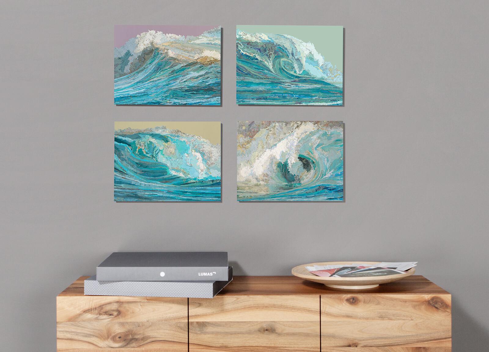 Rachel's Wave - Matthew Cusick