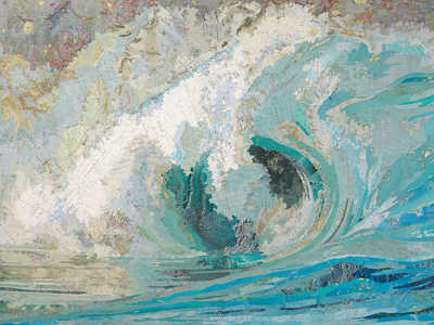 Fiona's Wave by Matthew Cusick