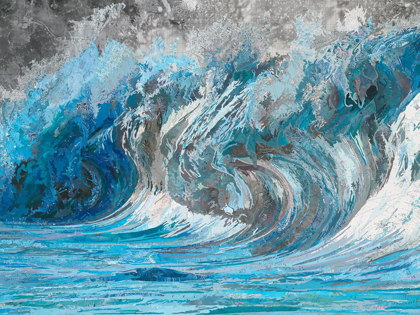 Genevieve´s Wave - Matthew Cusick