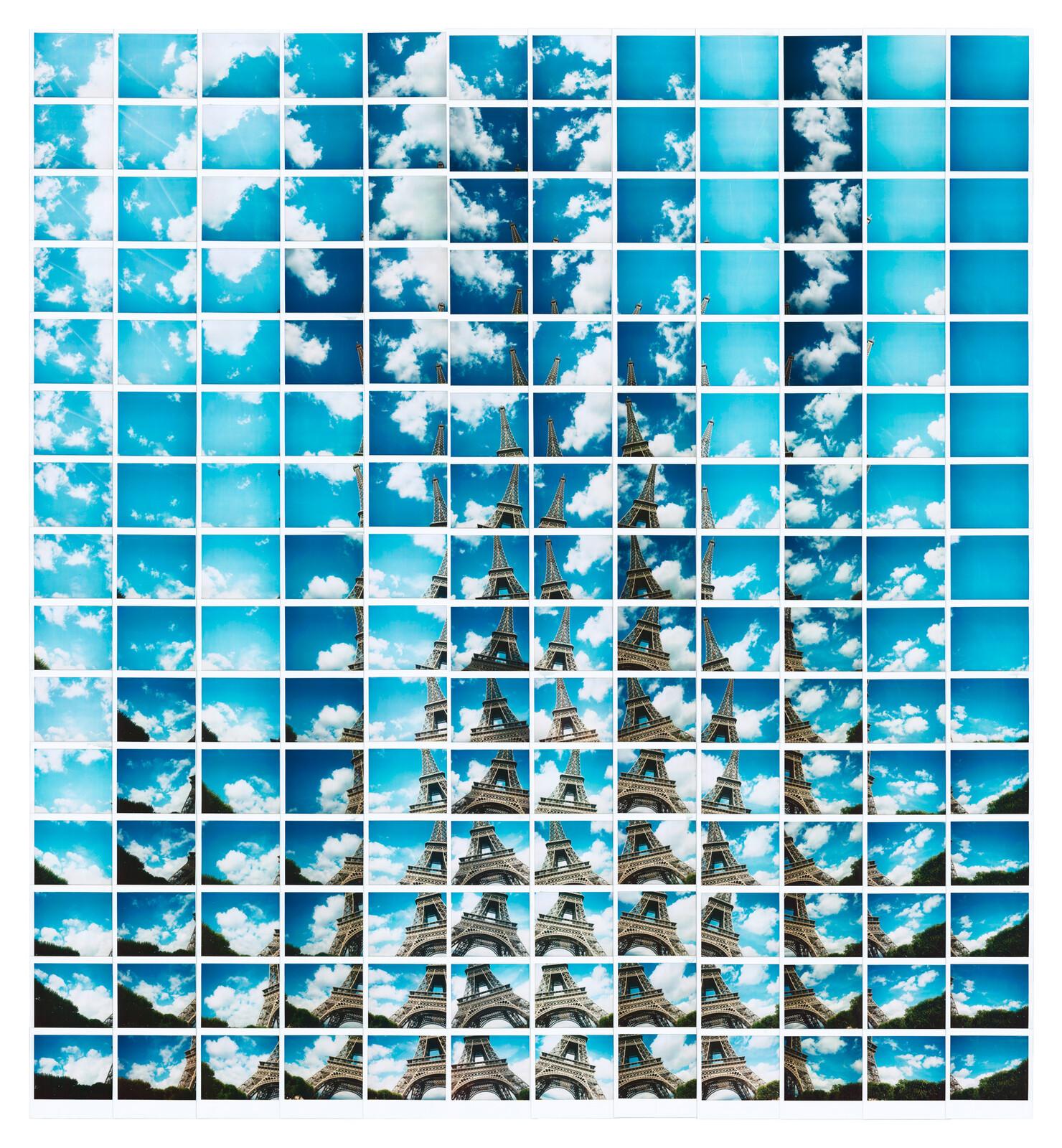 Eiffelparisritmica - Maurizio Galimberti