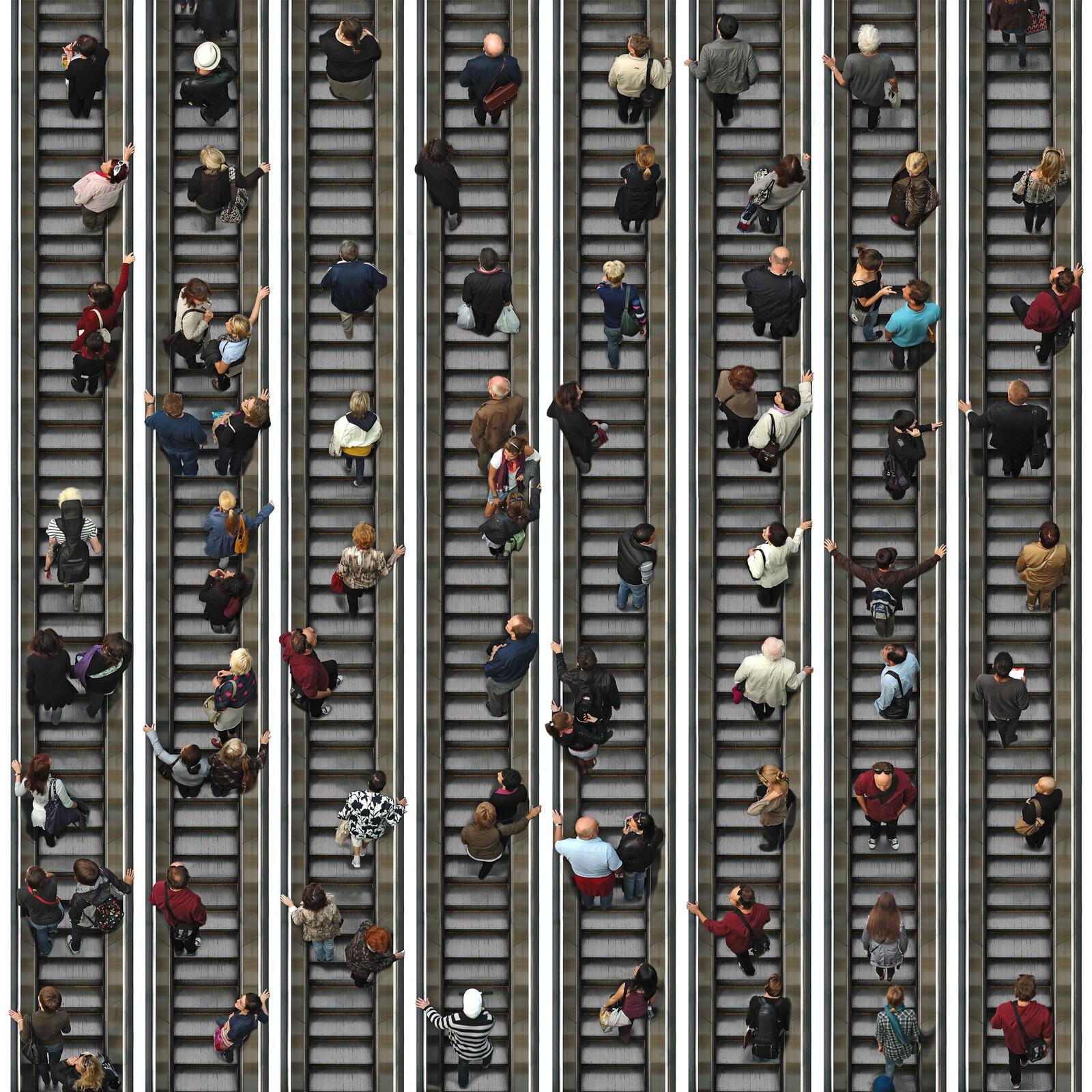Escalator I - Michael Michlmayr