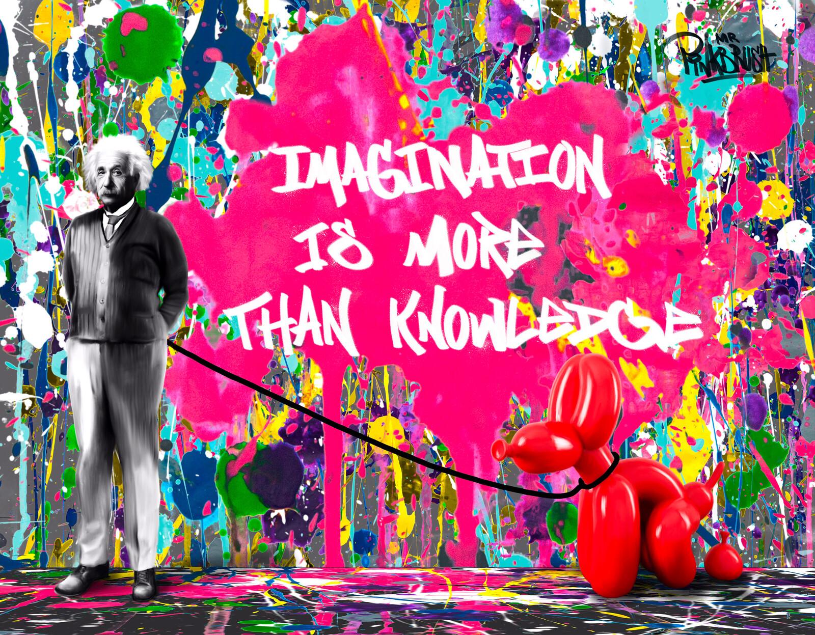 Imagination - Mr. Pinkbrush