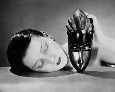 Noire et Blanche, 1924 by Man Ray