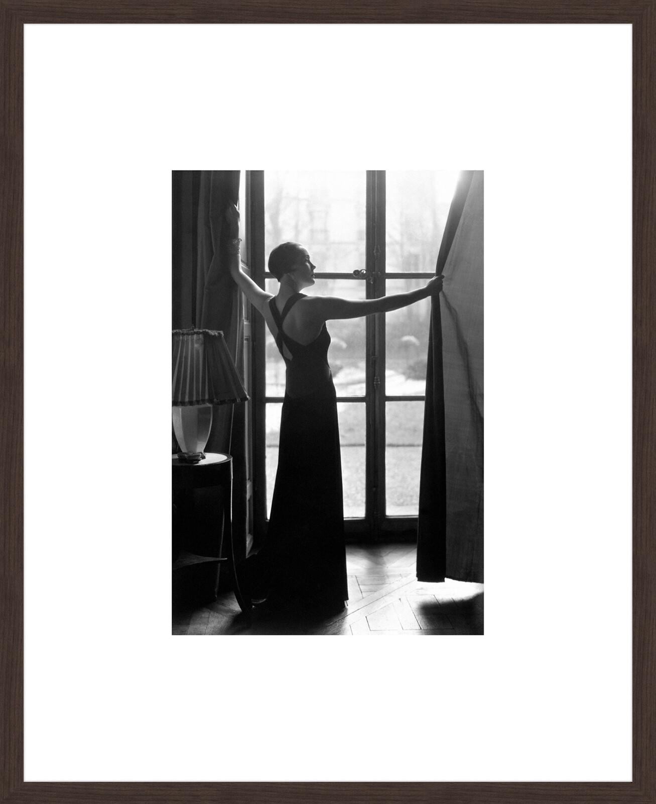 Hattie Carnegie wearing a Vionnet Dress, 1933 - Man Ray
