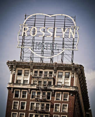 Rosslyn Hotel by Marc Shur
