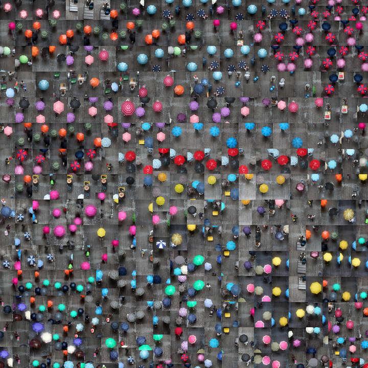 Umbrellas movements von Nancy Lee