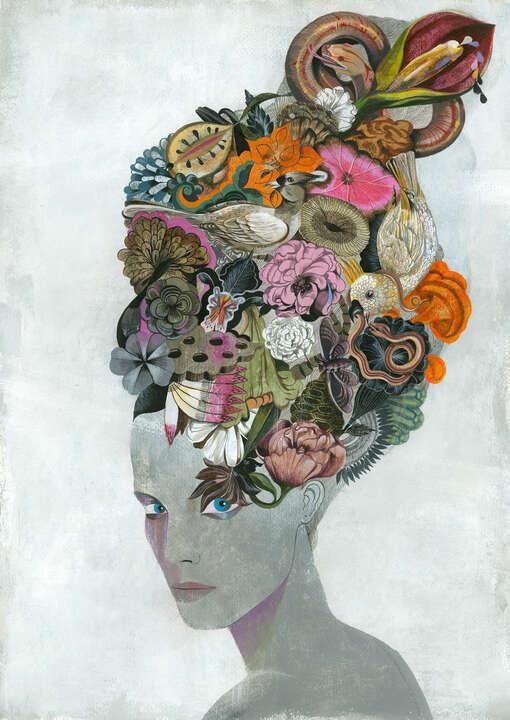 Iris von Olaf Hajek