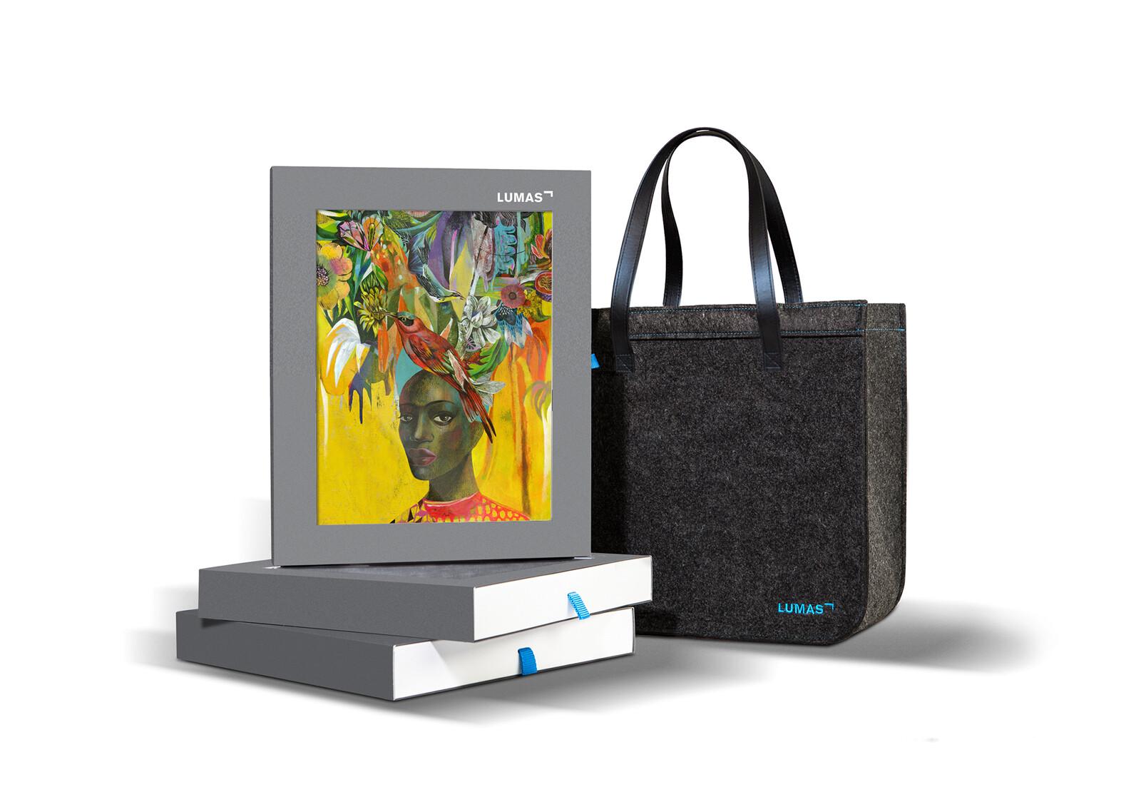 Selection Bag - Flowerheads - Olaf Hajek