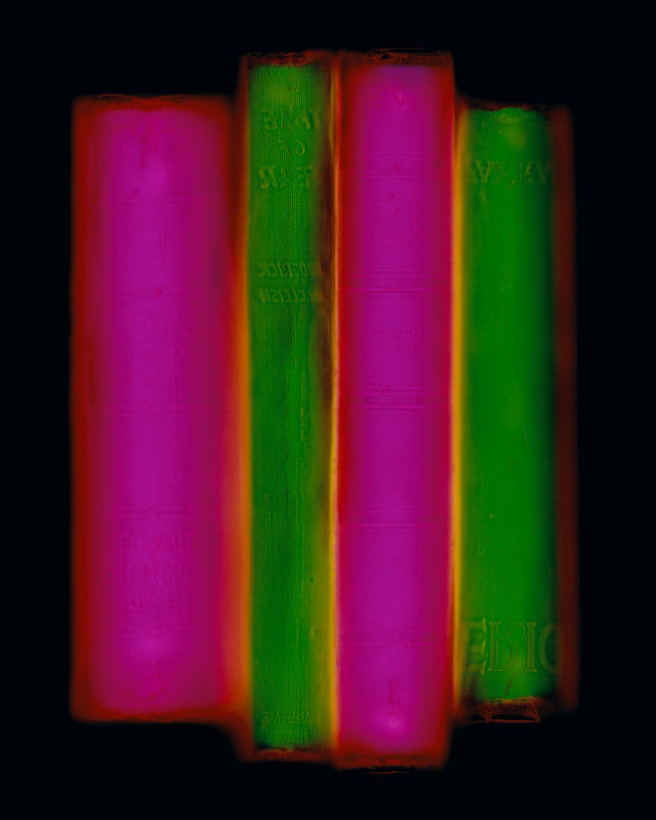 Archive (green/pink) - Penelope Davis