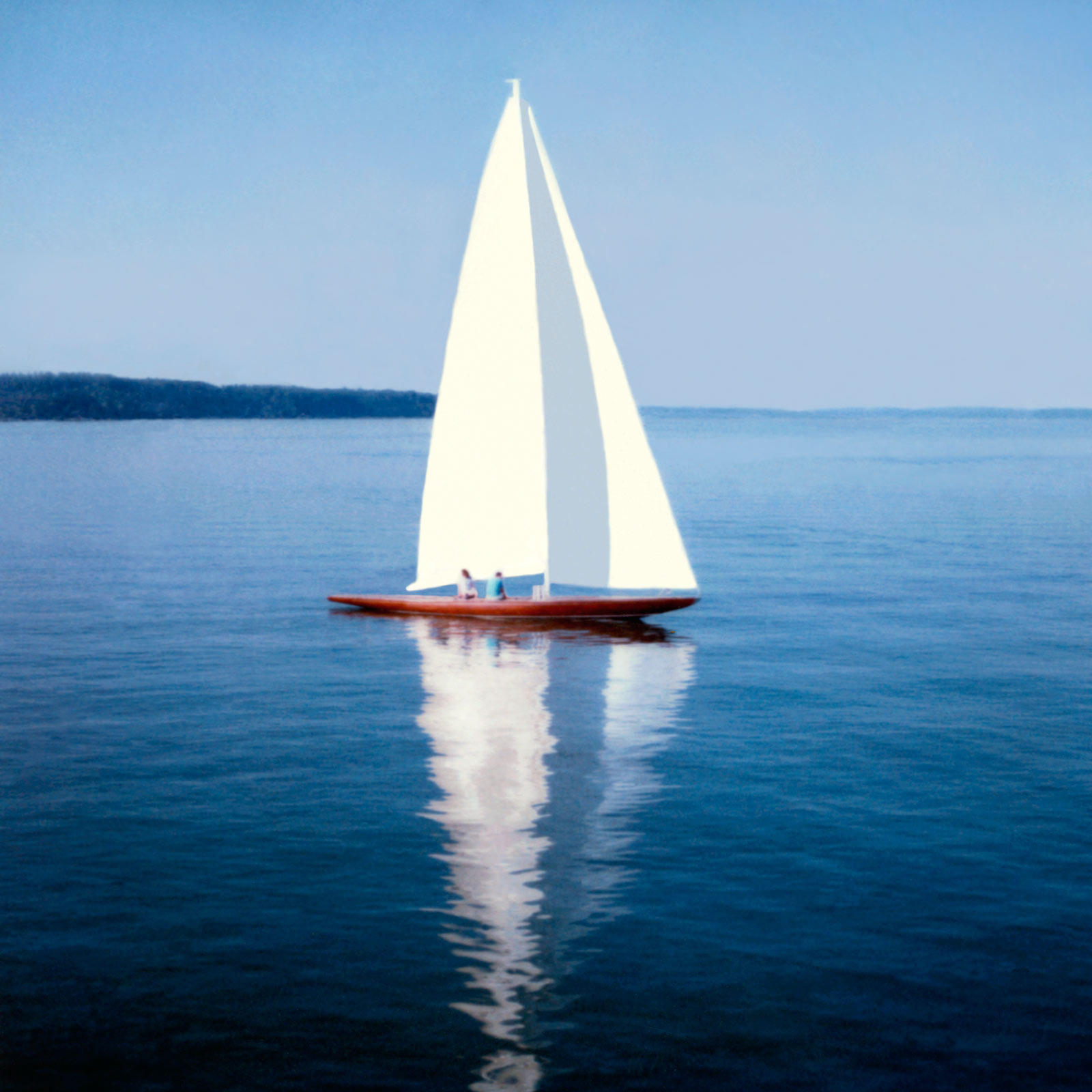 Segelboot zeichnung  Segelboot by Peter Von Felbert. Buy pictures & photo art online ...