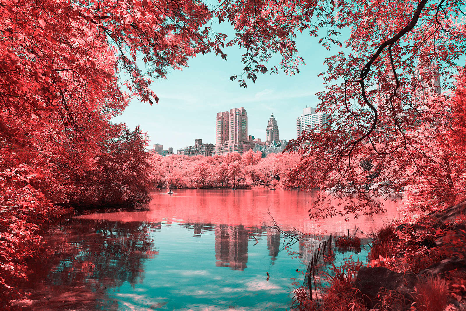 Infrared NYC I by Paolo Pettigiani