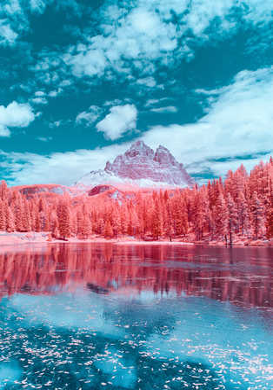 Infrared Dolomites I - Paolo Pettigiani