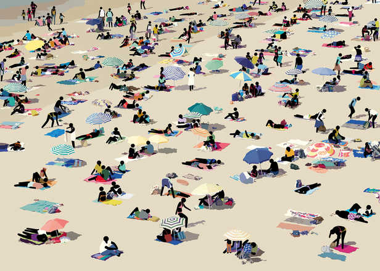 Beach Scene III - Patrick Tschudi