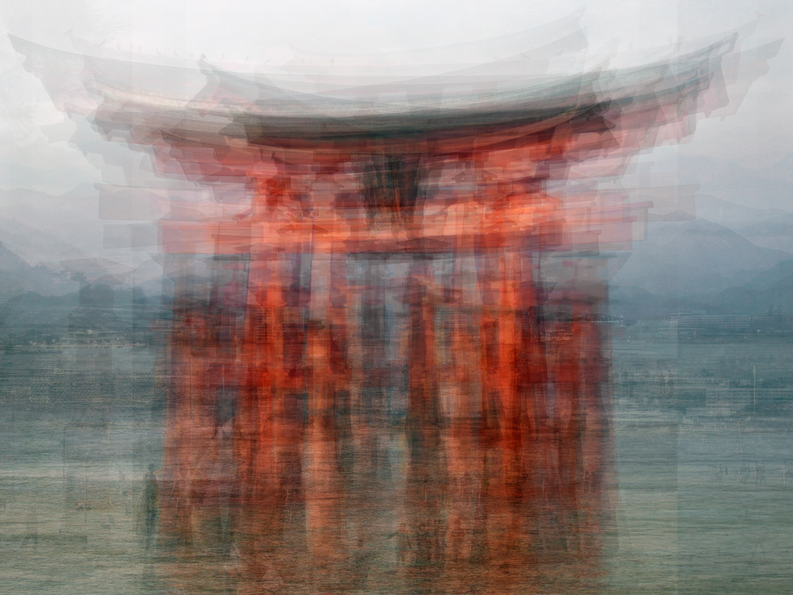 The floating Torii von Pep Ventosa