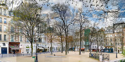 Place Dauphine by Pep Ventosa