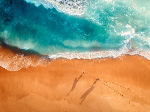 Two Surfers - Peter Yan