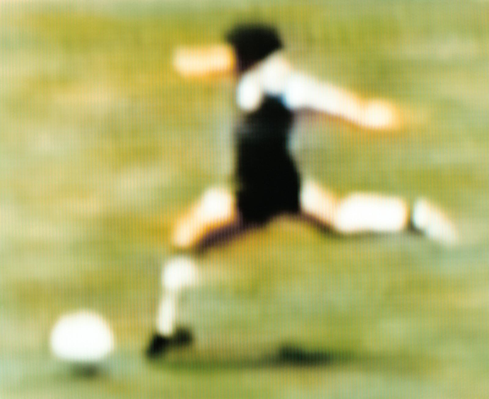Diego Maradona Argentina v England 2-1 (Quarter-final) 22.06.1986 Estadio Azteca Mexico City, Mexico  - Robert Davies