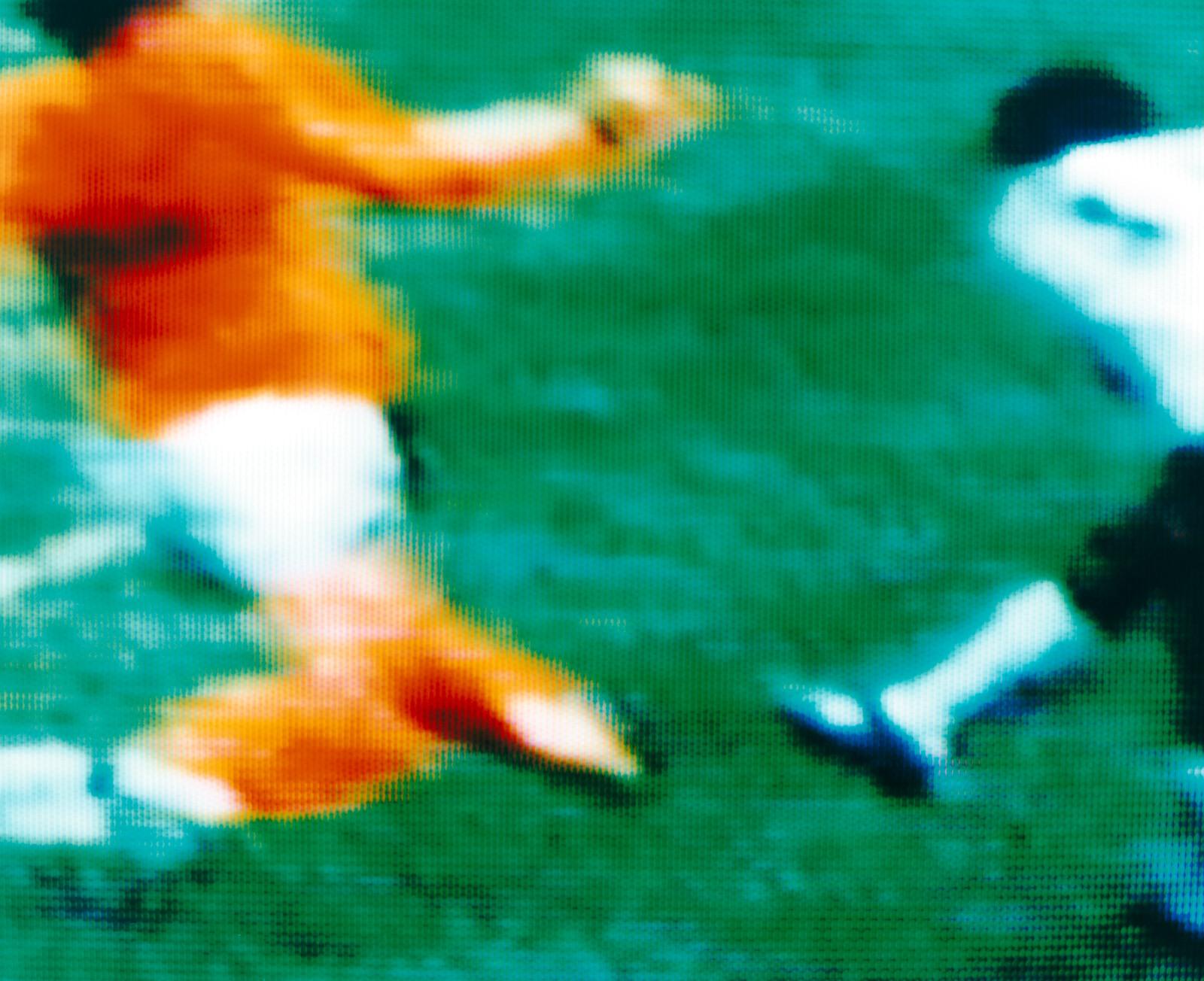 Gerd Muller & Ruud Krol West Germany v Holland 2-1 (Final) 7.07.1974, Olympiastadion, Munich, West Germany - Robert Davies