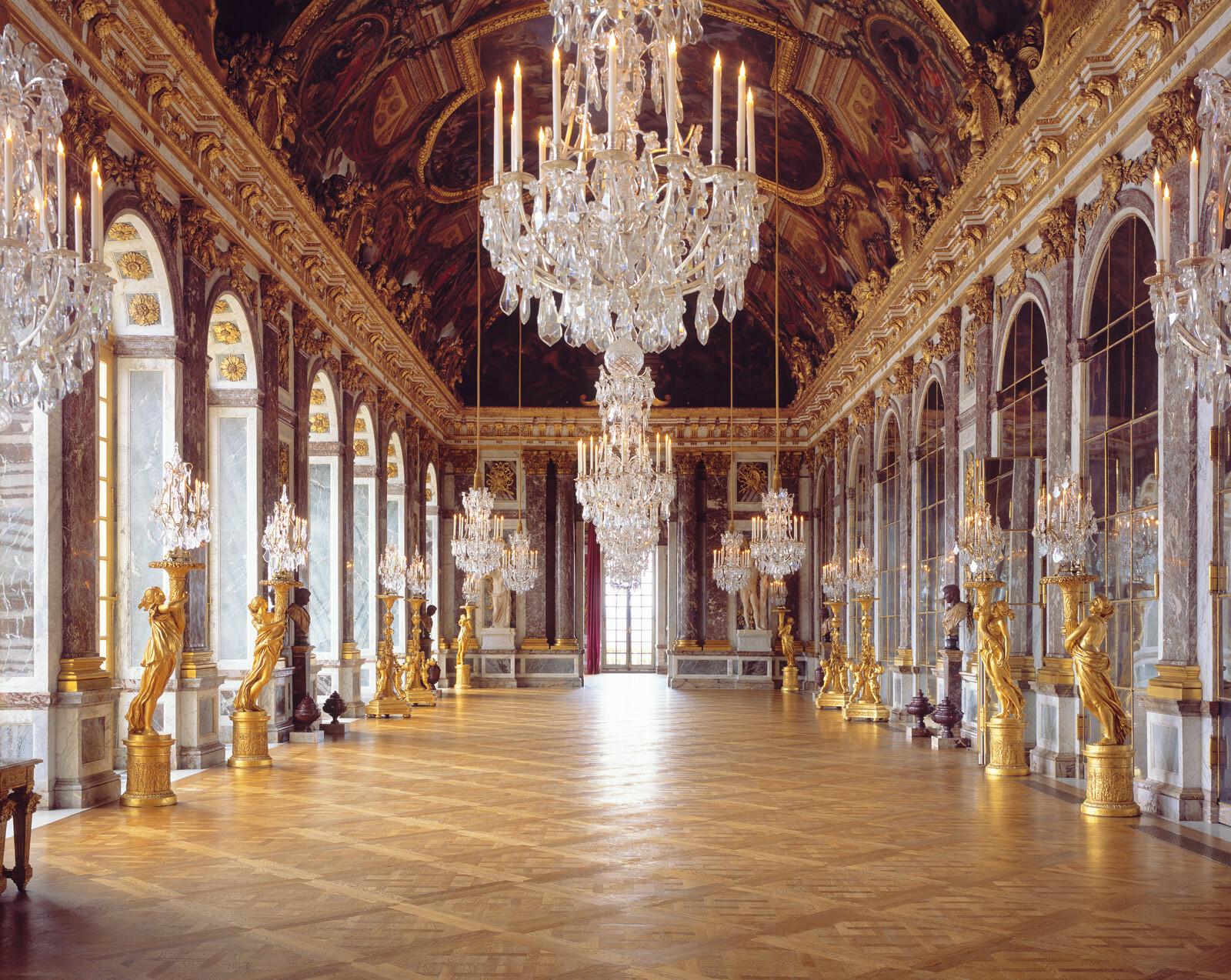 Château de Versailles, Galerie des Glaces - Reinhard Görner