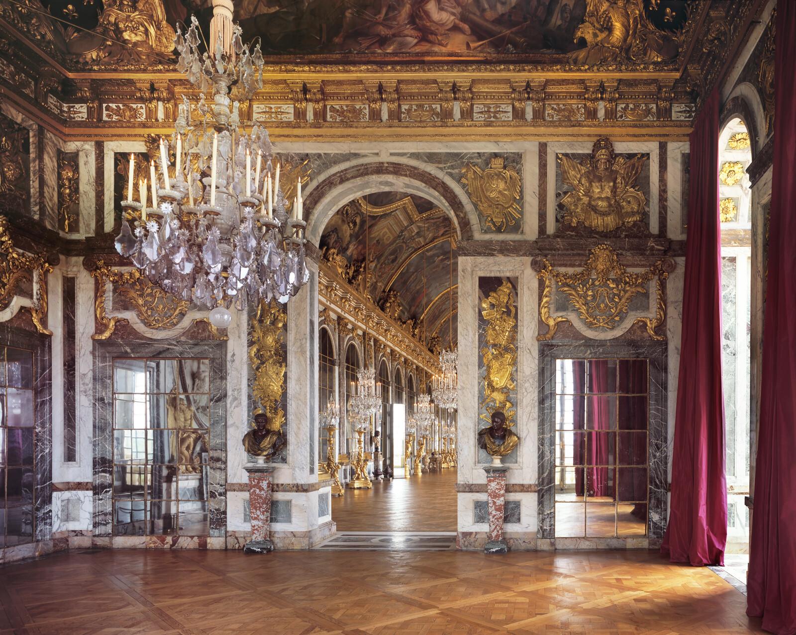 Château de Versailles, Salon de la Guerre - Reinhard Görner