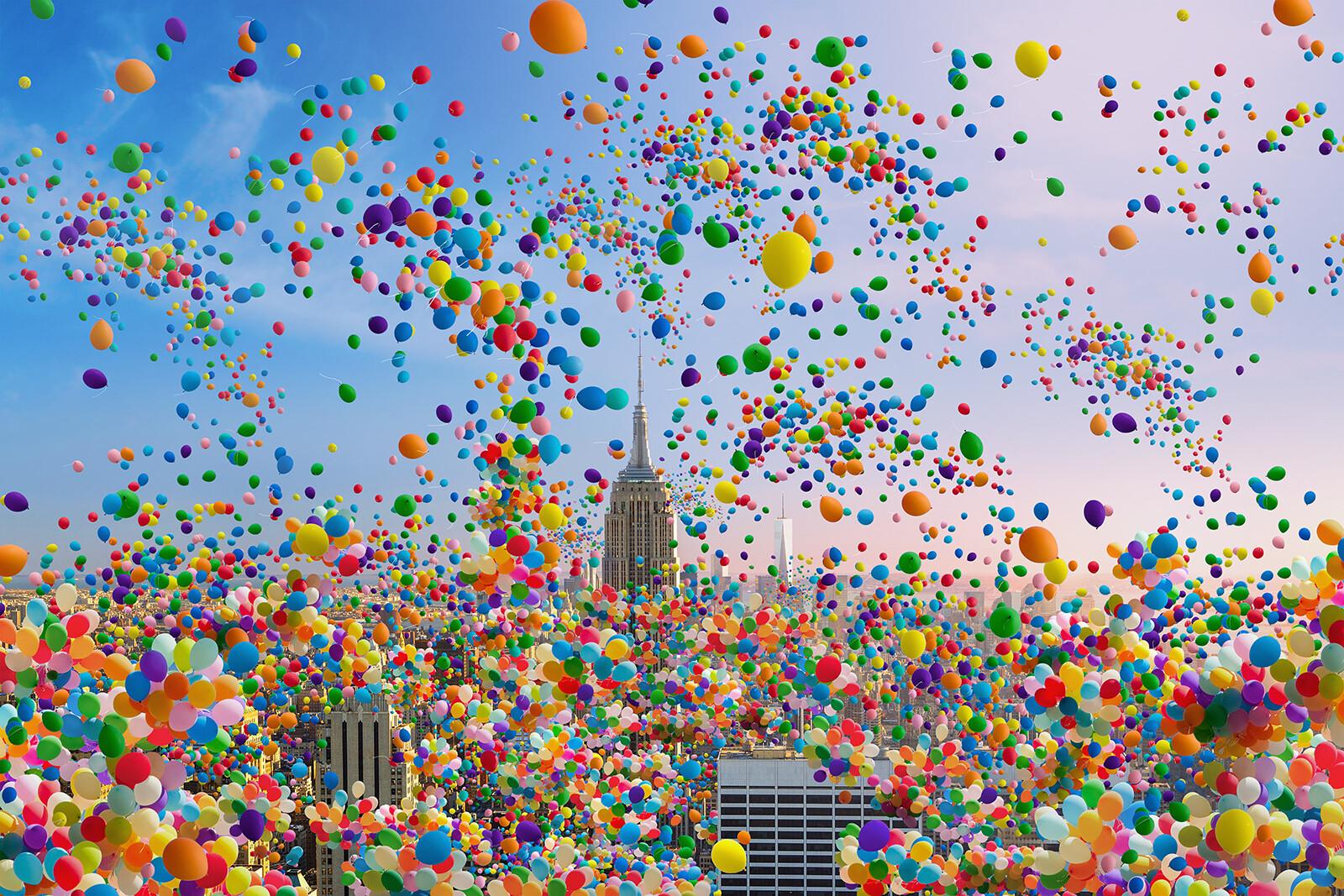 NYC Balloons II - Robert Jahns