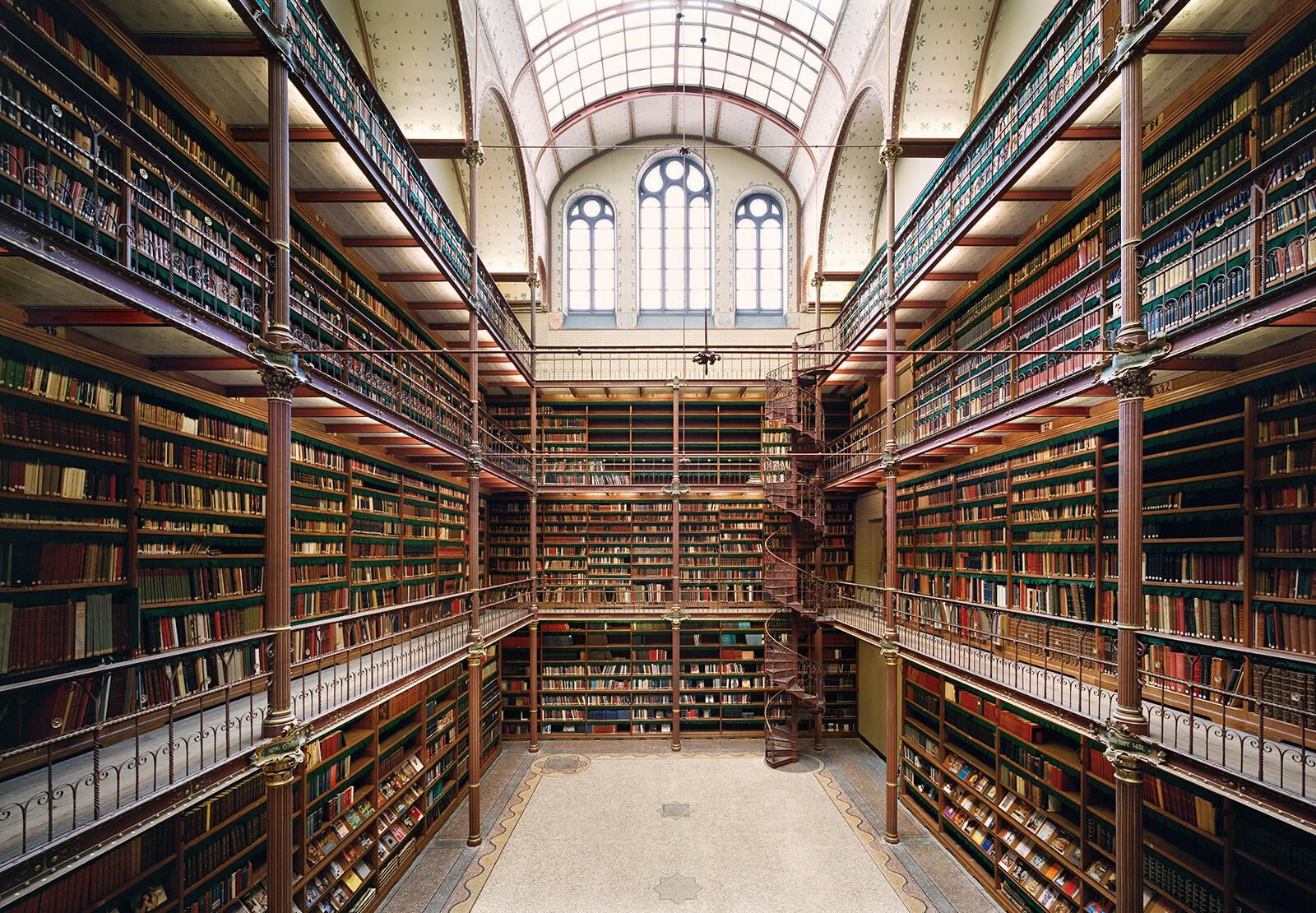 Rijksmuseum Library Amsterdam - Rafael Neff