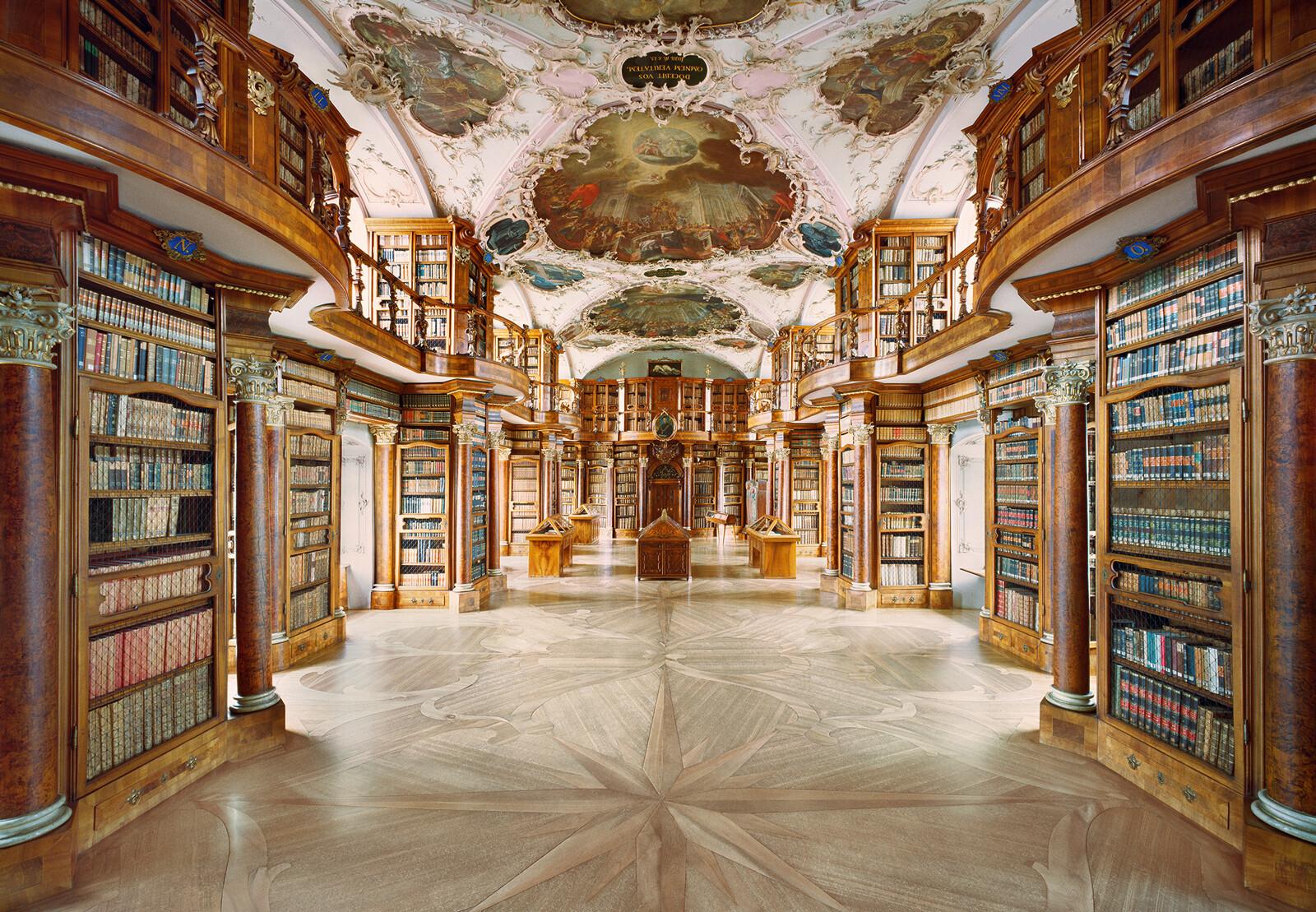 Stiftsbibliothek St. Gallen - Rafael Neff