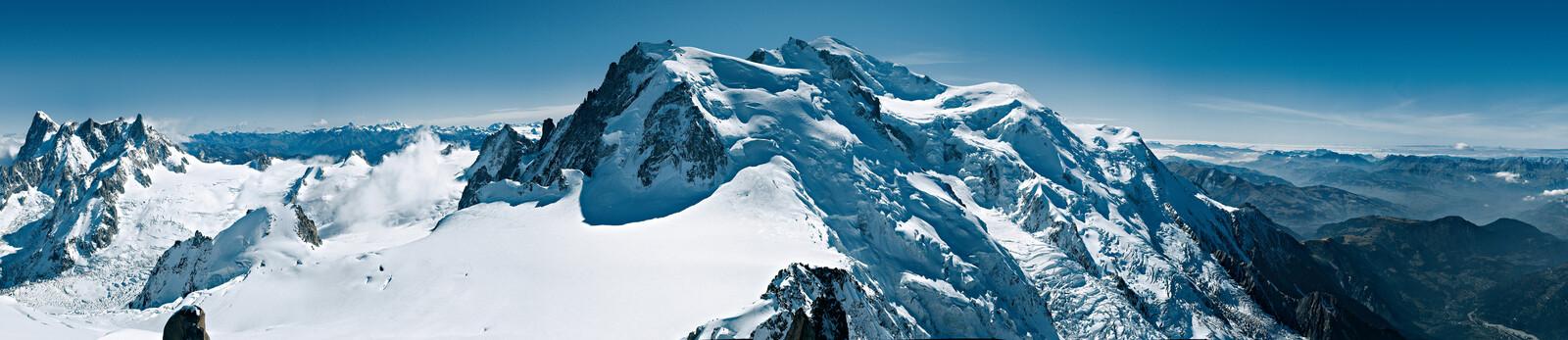 Massif du Mont Blanc - Rudolf Rother