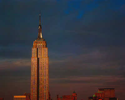 Empire State Building by Reinhart Wolf