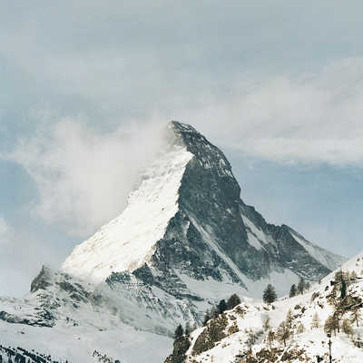 o.t. (Matterhorn) by Stephanie Kloss