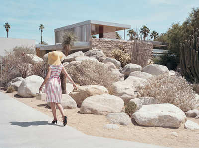 KAUFMANN HOUSE (Richard Neutra) von Stephanie Kloss