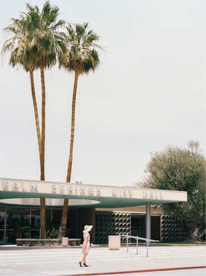 PALM SPRINGS CITY HALL (Albert Frey) by Stephanie Kloss