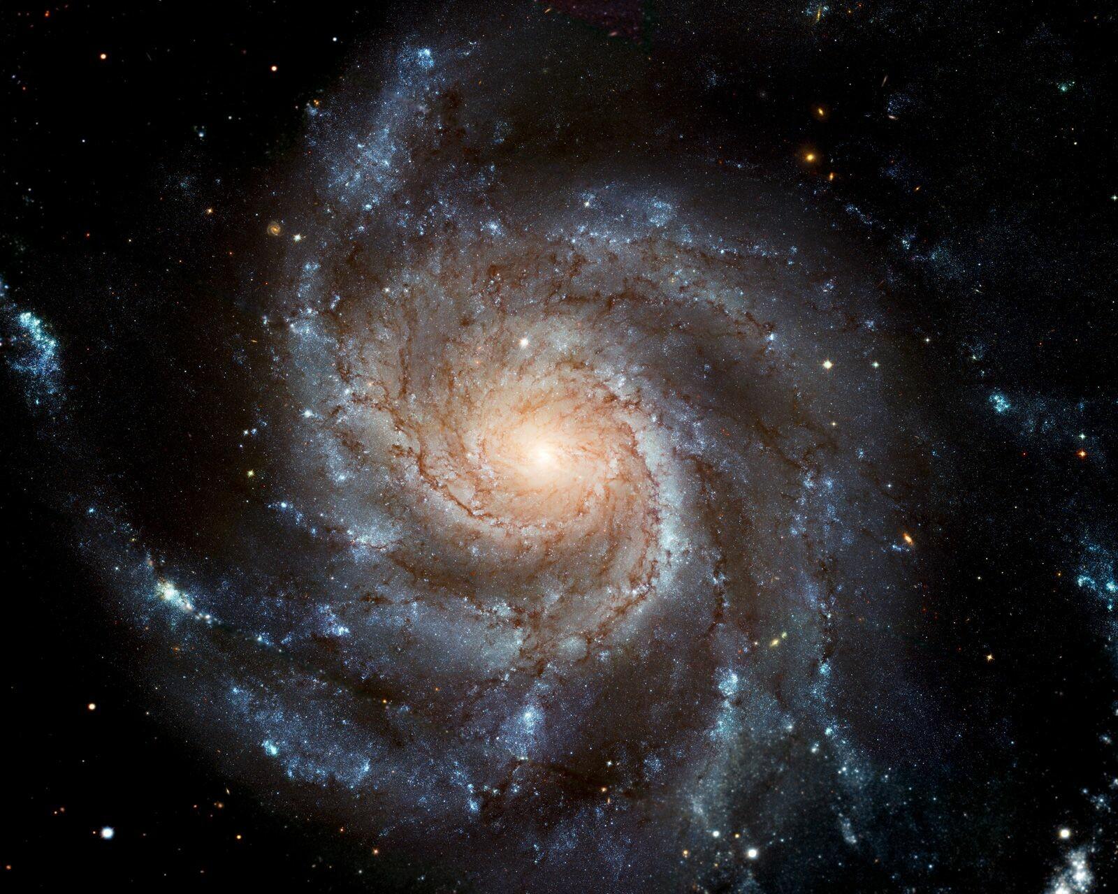 Pinwheel galaxy (NASA/ JPL - Caltech) - Hubble Telescope