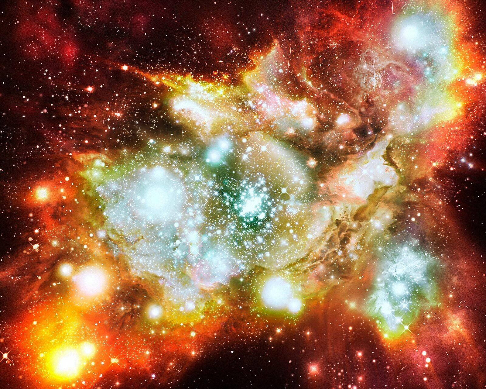 Lynx arc (Artist's Impression, NASA/JPL - Caltech) - Hubble Telescope