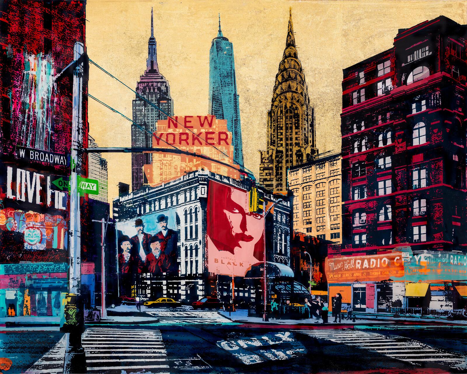 New Yorker - Sandra Rauch
