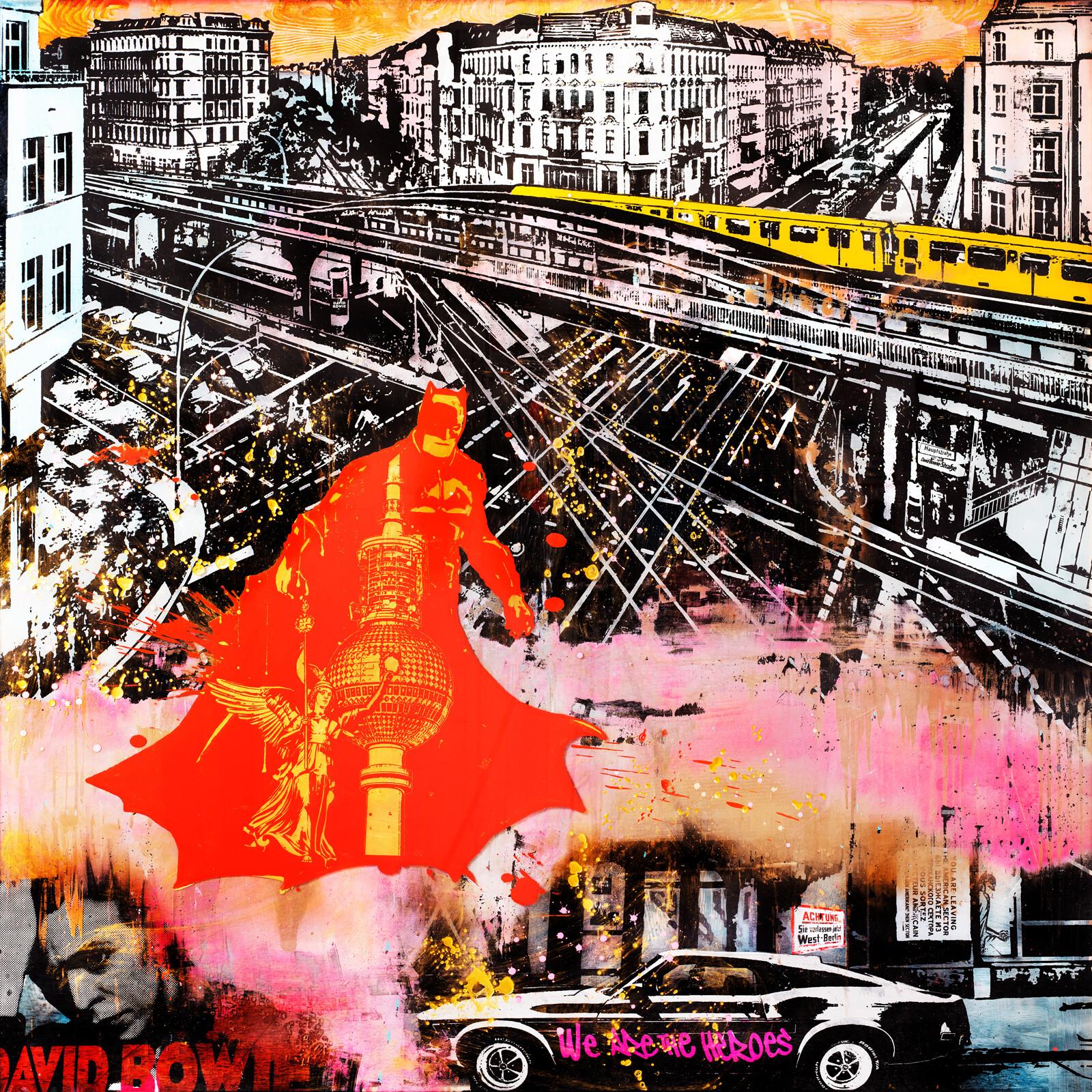 Berlin loves Bowie - Sandra Rauch